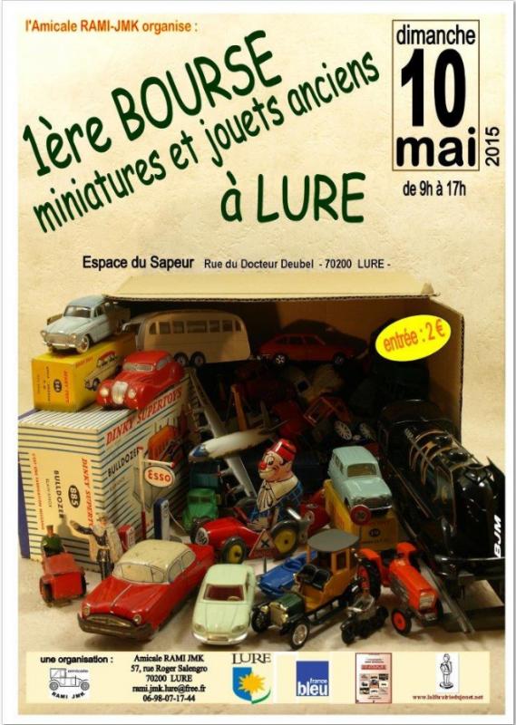 bourse miniature lure 70200 ( haute saone) mai 2015