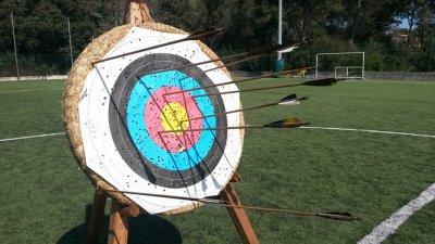 Entrainement tir à l'arc