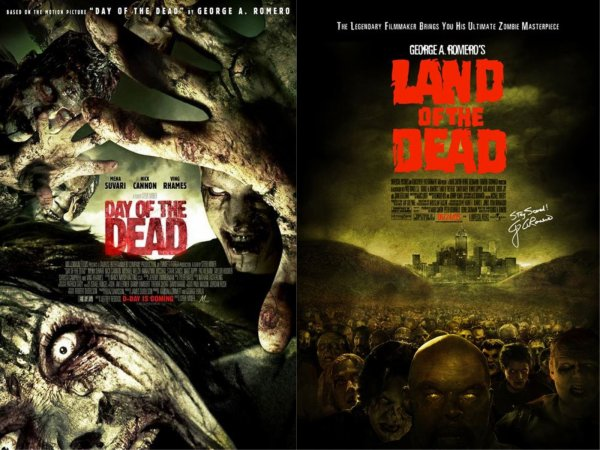 Day of the dead  &  Land of the dead