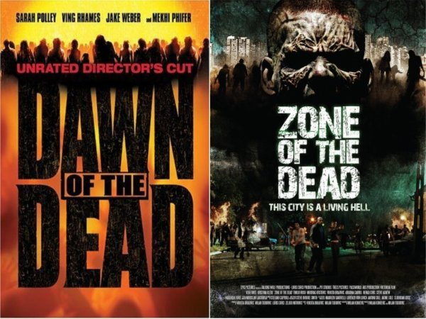 Dawn of the dead  &  Zone of the dead