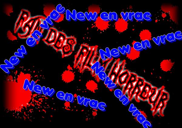 New en Vrac  01 Février