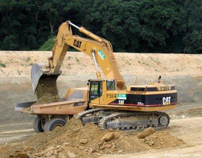 construction autoroute A11