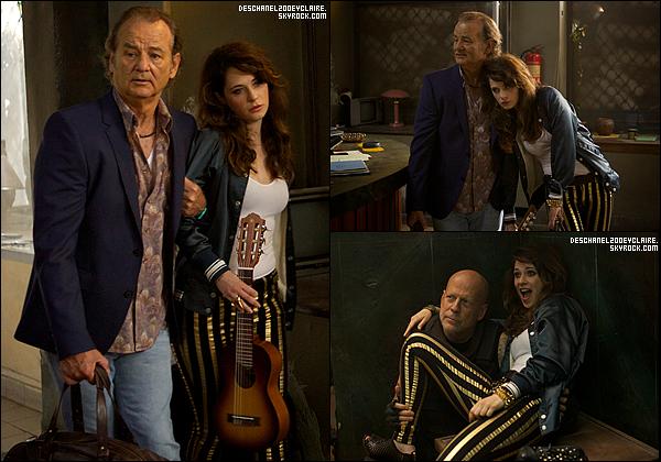 . Découvrez les premier stills de Zooey dans Rock The Kasbah en salle le 23 octobre (US) .