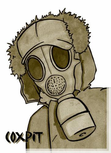 COXPIT-  bay patina , mk2 rat's , mk3 clean