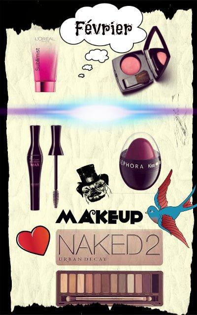 Mes favorits du mois de février (maquillage)