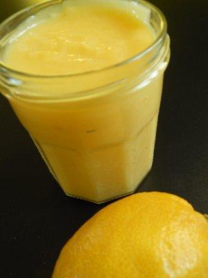 Crème au citron (Lemon curd)