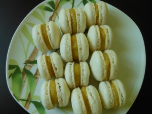 Macarons à la pistache