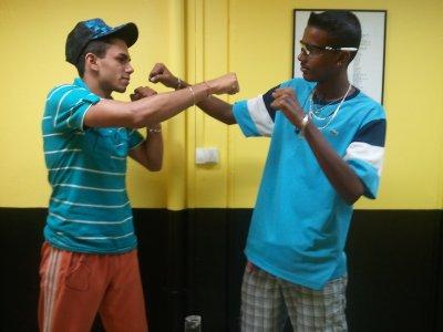 les 2 boxeur