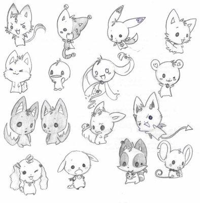 Animaux chibi chibi kawaii les plus mignons - Jeux d animaux trop mignon ...