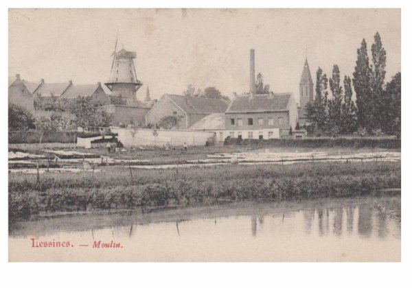 LESSINES, le moulin