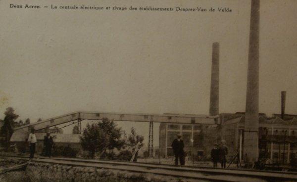 DEUX-ACREN la-centrale-electrique et-etablissements-desprez-van-de-velde