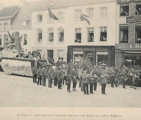 LESSINES souvenir festin 1899