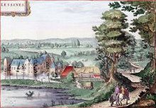 LESSINES en 1649