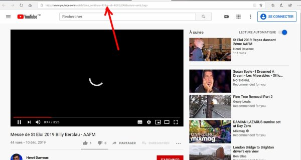 Télécharger une vidéo ou diaporama