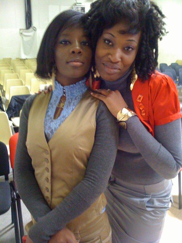 la présidente VIP et la comptable Jasmine okoueke