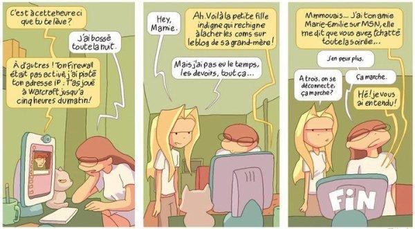 Avant-Goût / Mamie & Internet ( 2 ) Attention ce n'est pas un extrait du tome 6 !