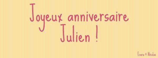 Joyeux anniversaire Julien Neel ( Retard .. )
