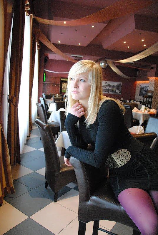en vacances au restaurant...