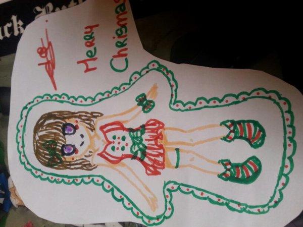 Un dessin de Noël fait au feutre #pasterrible --'