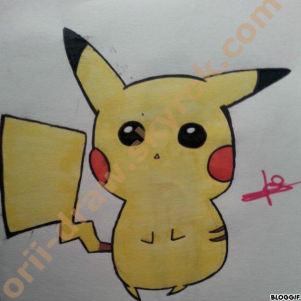 Quand je me met à dessiner des pokemons :)