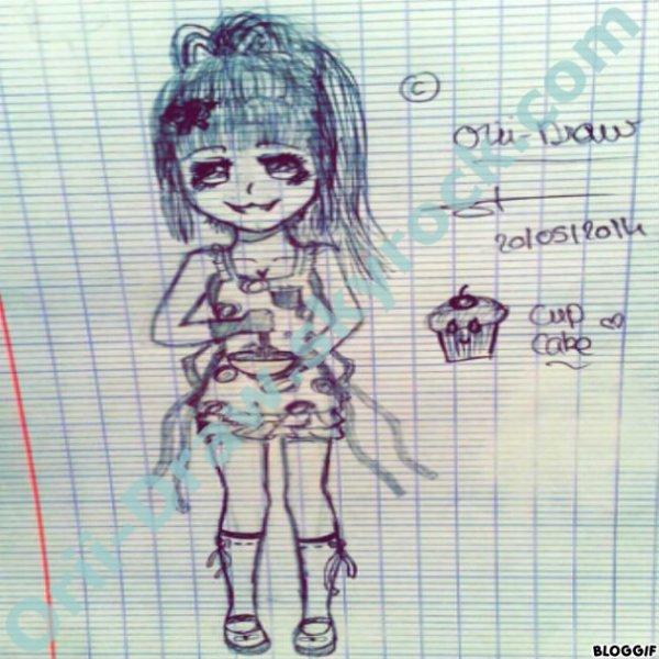 CupCake ♥♥ (Il est pas beau, No Comment).