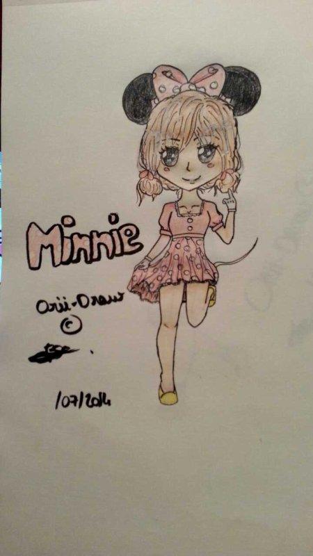 Minnie ! (c'est très moche ...)