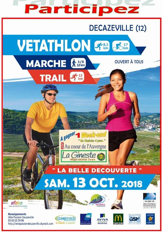 VETATHLON / TRAIL & MARCHE 2018