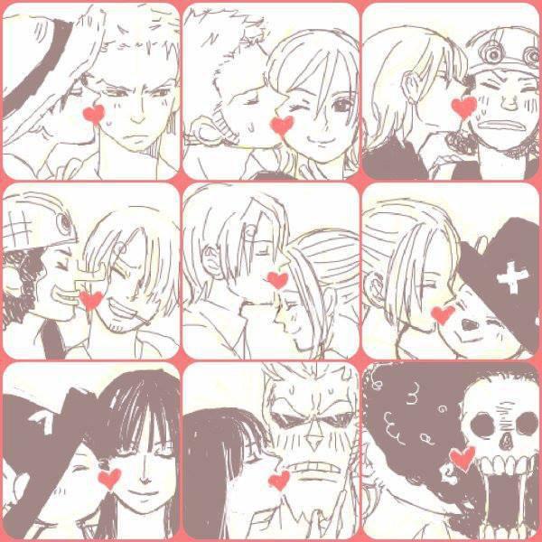 One piece ♥ Ils sont trop mignon !!