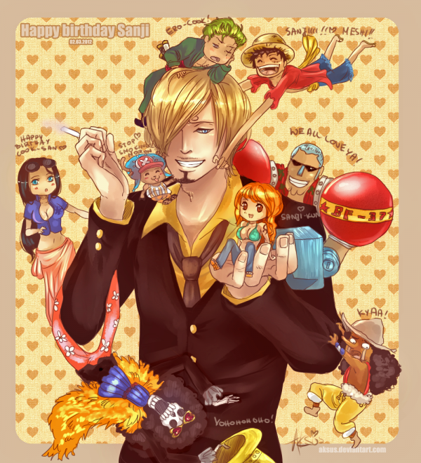 Happy Birthday Sanji-Kun !!! :D