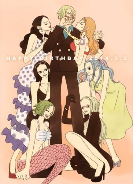 Happy Birthday Sanji-Kun !!! :D