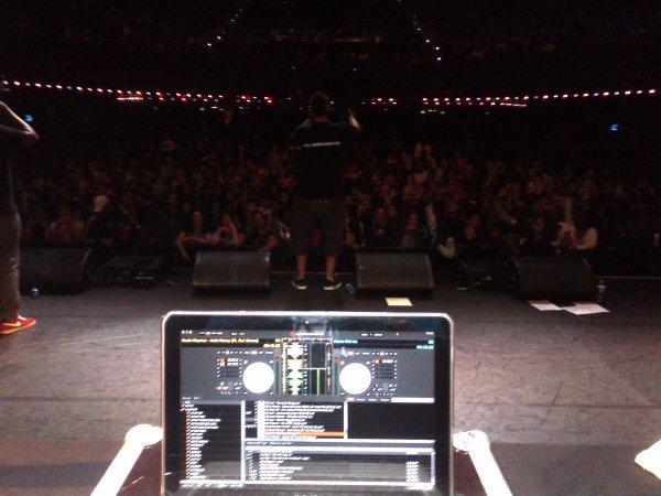LECK / DJ B-RYS A L'OLYMPIA!! PREMIERE PARTIE DE MOKOBE (113)