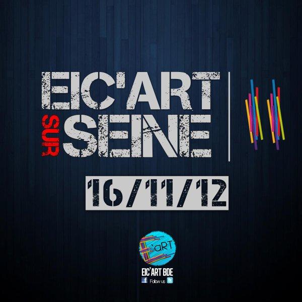 MIX SOIREE ETUDIANTE VENDREDI 16/11/12 • EIC'ART SUR SEINE • PENICHE CONCORDE ATLANTIQUE