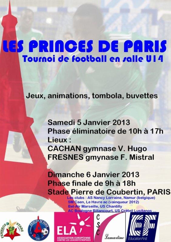 TOURNOI // FOOT SALLE // U14 // PRINCES DE PARIS // STADE PIERRE DE COUBERTIN // DIMANCHE 6 JANVIER 2013 // ONTHEMIX