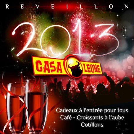 DJ UNITY // DJ B-RYS // DJ CED-RIK // NOUVEL AN 2013 // CASA LEONE // BOURG-EN-BRESSE