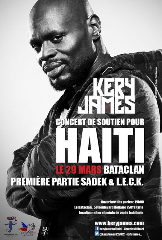 Première partie de Mr Kery James // 29 mars 2013 // Bataclan (Paris) // Leck