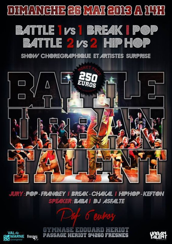SHOWCASE LECK // BATTLE URBAN TALENT // FRESNES (94)