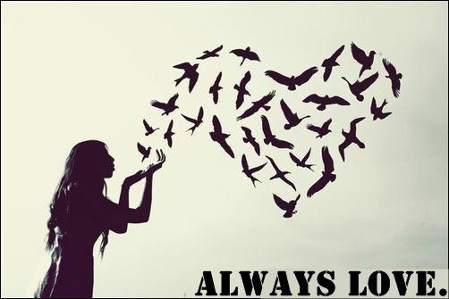 Always love..