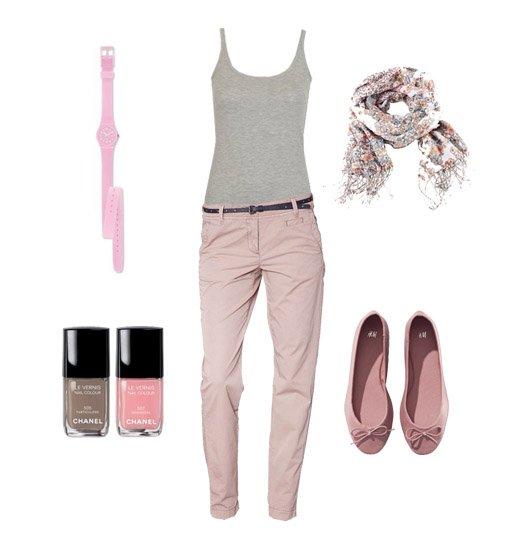 Vendredi 3 Juin 2011 -Outfit du jour Pink -