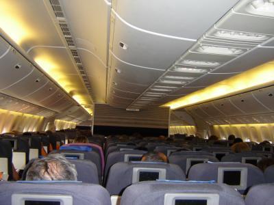 Int rieur d 39 un boeing 777 200 de la united du r ve a la for Interieur 777