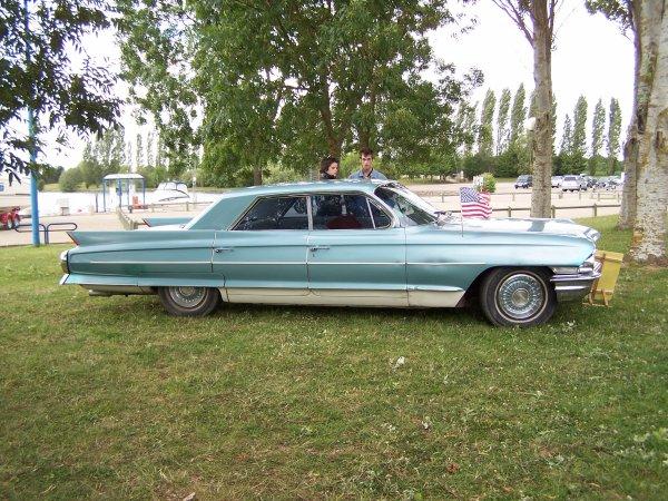 voitures americaine venu a Dienville