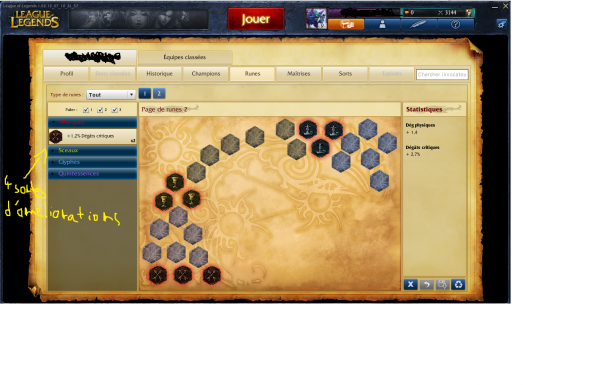 test League of legend (LoL)