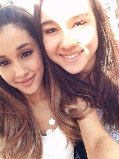 Ariana avec des fans au Kiss Concert 31/05/14
