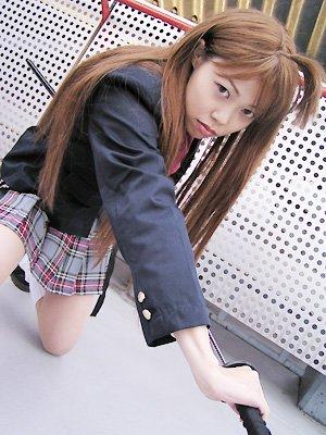Cosplay--->Enfer et Paradis--->Aya Natsume