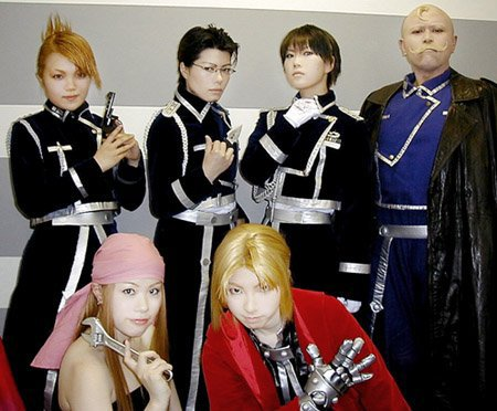 Cosplay--->Full Metal Alchemist--->EdwardxWinry