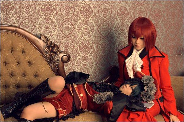 Cosplay-->Black Butler--> Ciel&Sebastian(1)_Ciel(2)_Ciel&Madame Red(3)_Sebatsian(4)_Grell&Undertaker(5)_Lizzie(6)