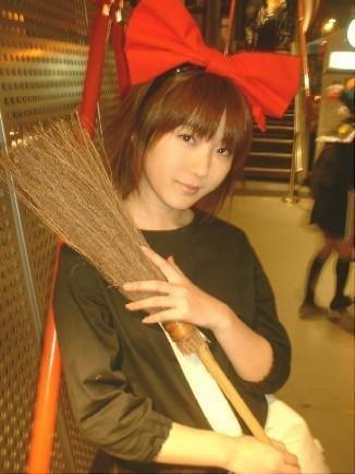 Cosplay--->Princesse monoke/ Le château ambulant/ Kiki la petite sorcière/ Le voyage de Chihiro