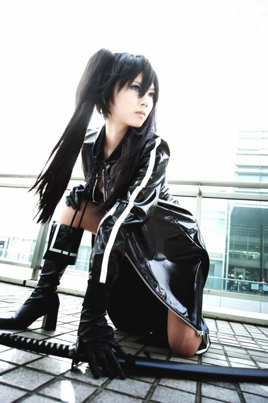 Cosplay---> Black Rock Shooter