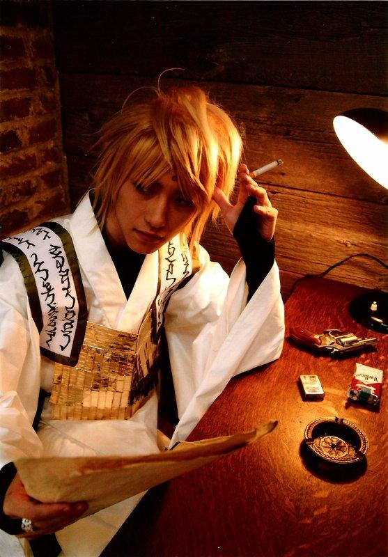 Cosplay--->Saiyuki--->Cho Hakkai /Genjo Sanzo/ Sha Gojyo / Son Goku