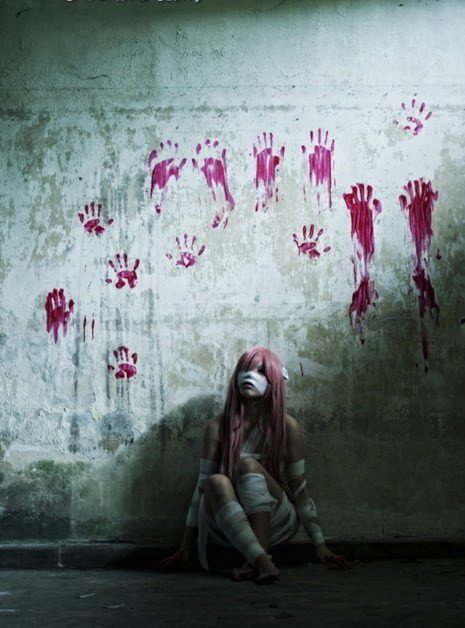 Cosplay--->Elfen Lied--->Lucy