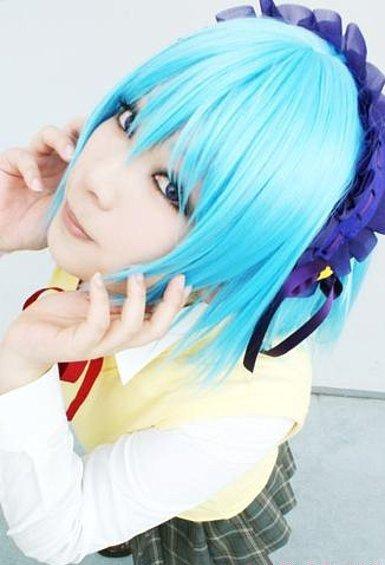 Cosplay--->Rosario+Vampire--->Moka(1&5)_Kurumu(2)_Mizoré(3)_Yukari(4)